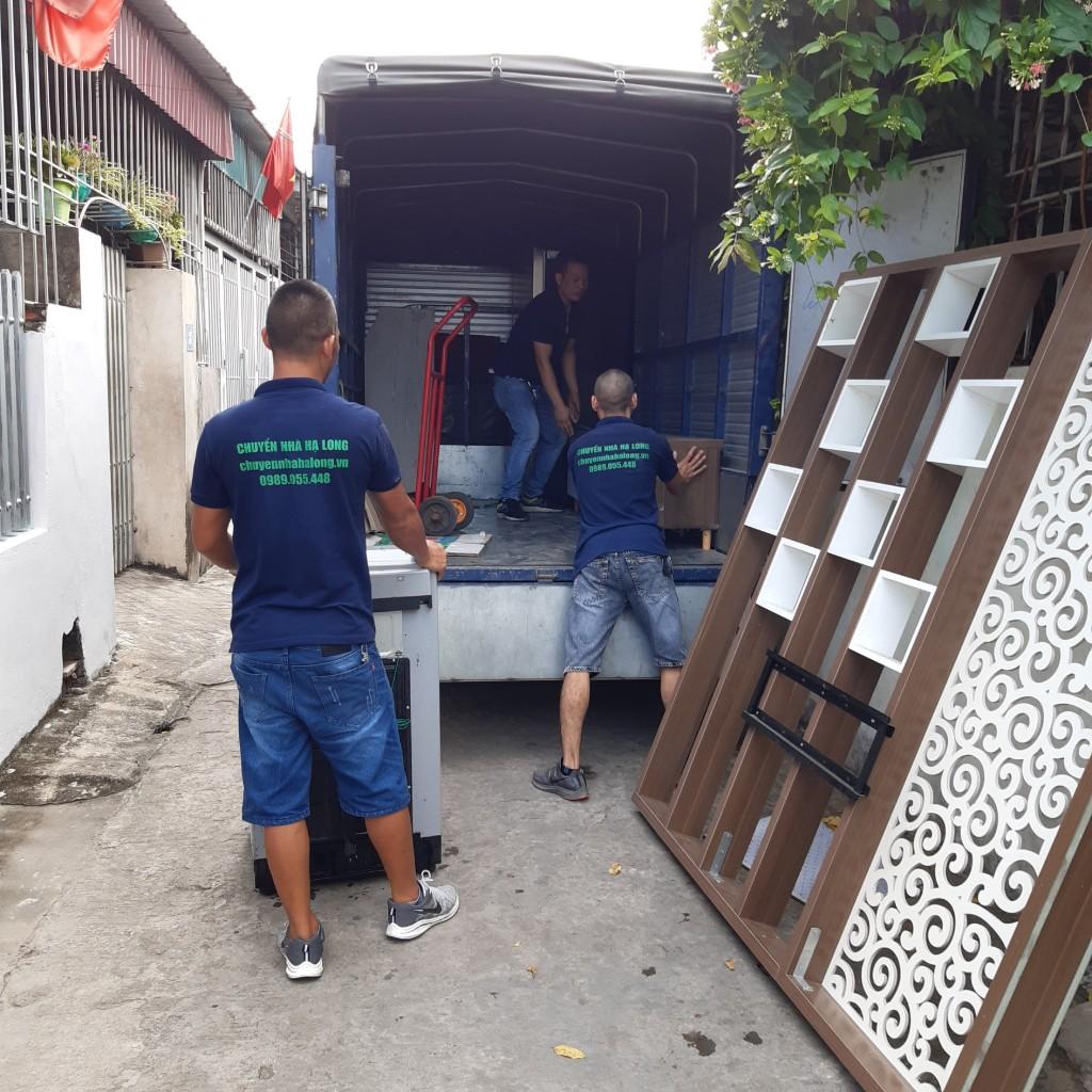 Dịch vụ chuyển nhà trọn gói giá rẻ tại Hạ Long