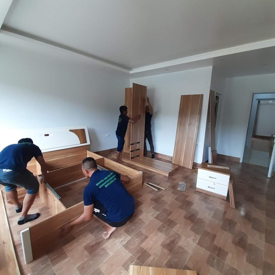 Tháo dỡ lắp đặt giường hộp