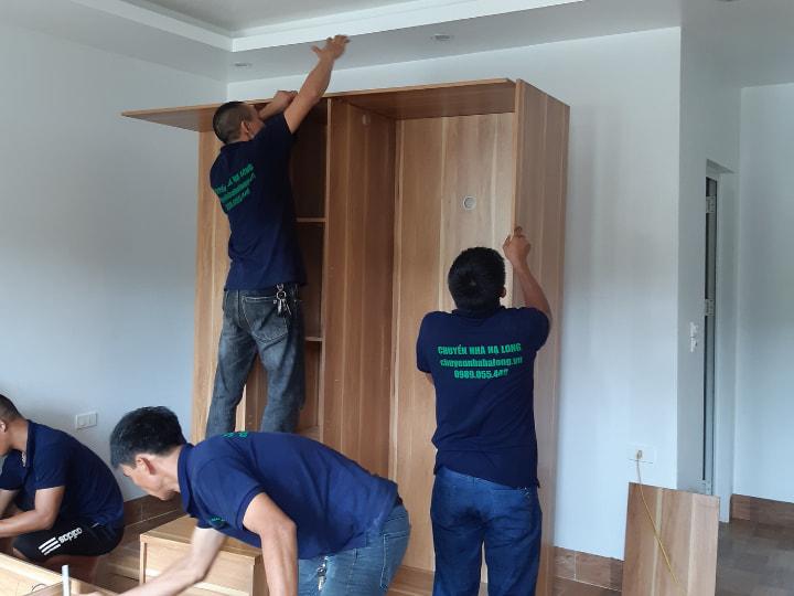 Dịch vụ tháo lắp giường tủ tại Hạ Long, Quảng Ninh
