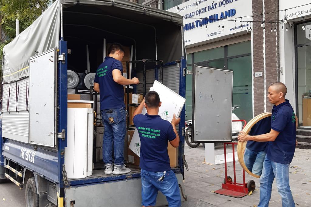 Dịch vụ chuyển nhà giá rẻ tại Hạ Long, Quảng Ninh