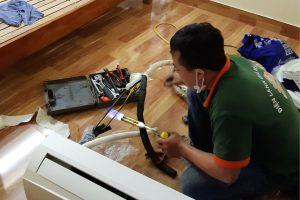 Thợ điều hoà tháo lắp, bảo dưỡng, sửa chữa tại Hạ Long