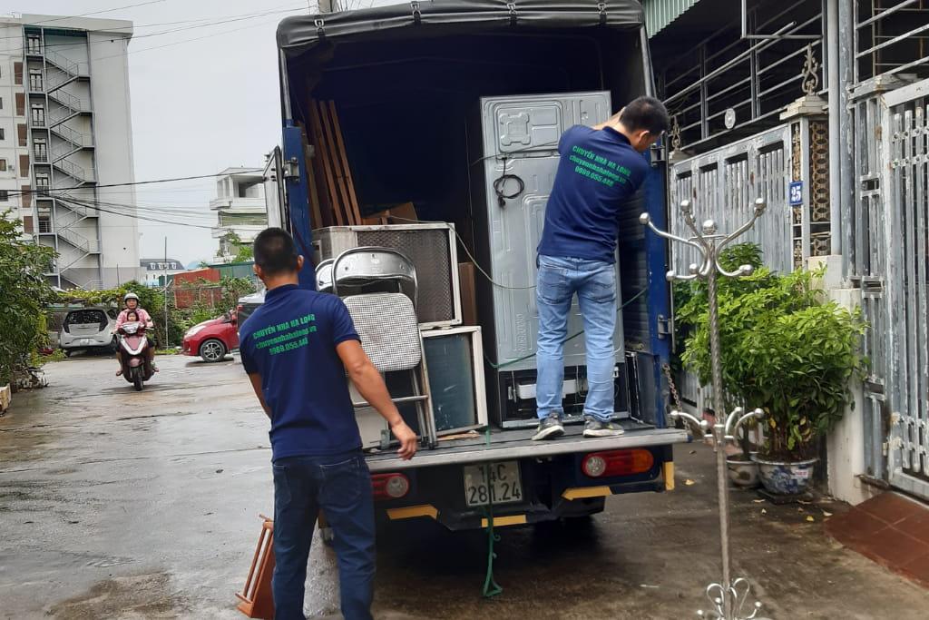 Thuê xe tải chở hàng Hạ Long Quảng Ninh