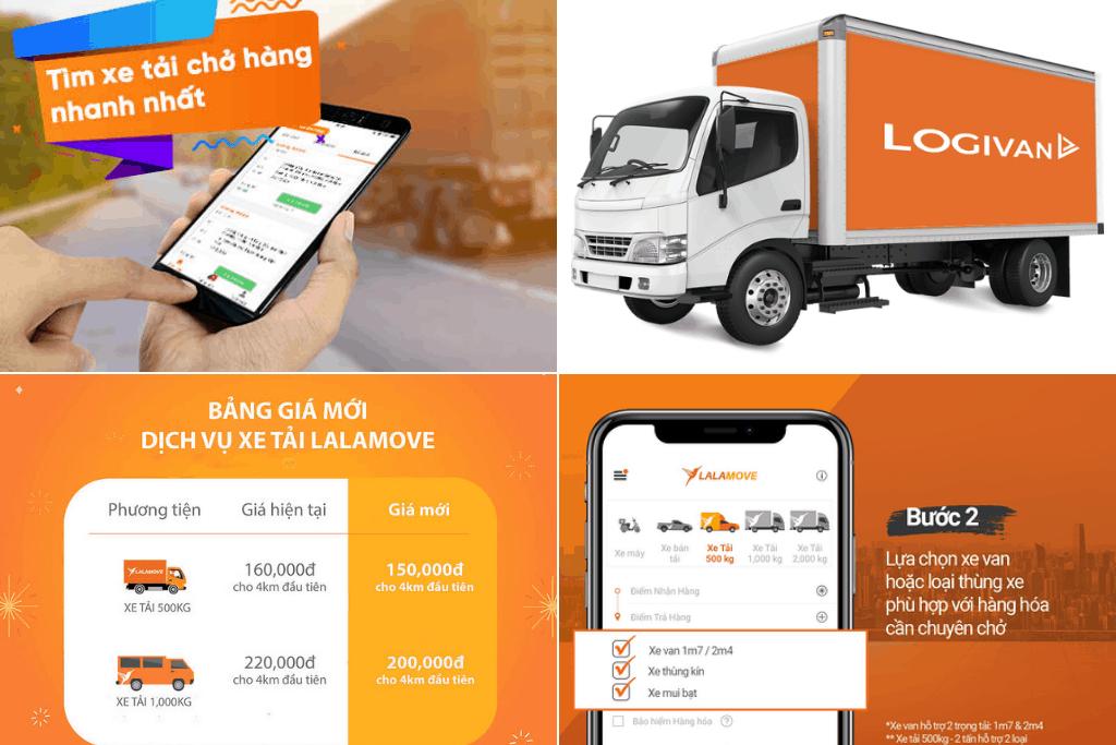 Ứng dụng / App chuyển nhà chuyển đồ trọn gói